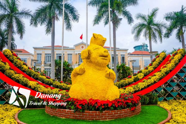 Tet in Danang: Check-in at Da Nang Flower Street 2019